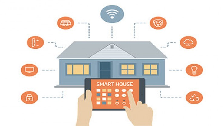 IoT smart Home, Iot smart house, Iot home, Home Automation