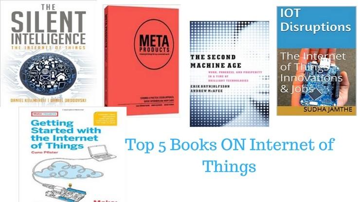 Top 5 Books on IOT